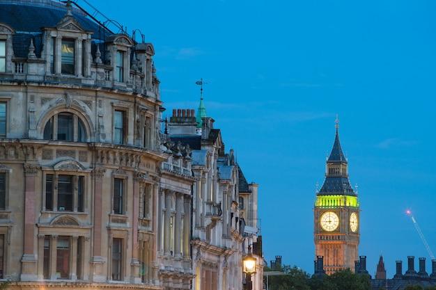 Trafalgar square em londres inglaterra reino unido
