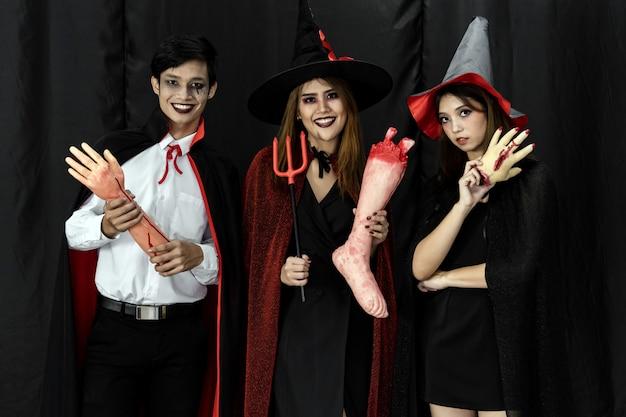 Trajes de halloween adolescente adulto festa