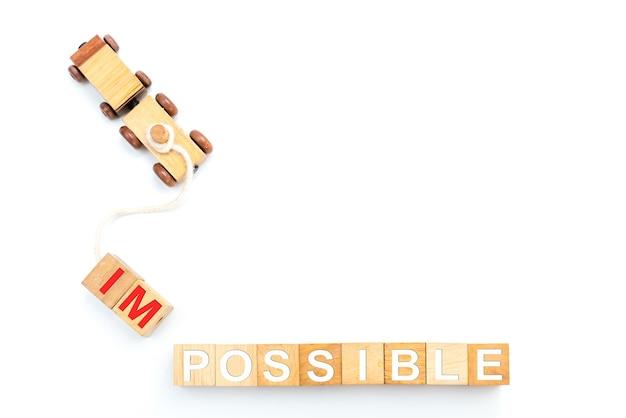 Transformação pessoal para um conceito de sucesso. desenvolvimento e melhoria de negócios. isolado em fundo branco
