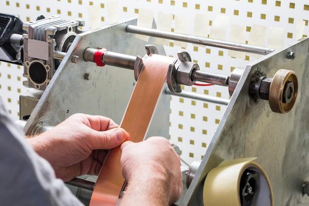 Transformador de corda manual