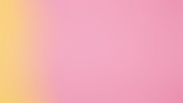 Transição suave de cores