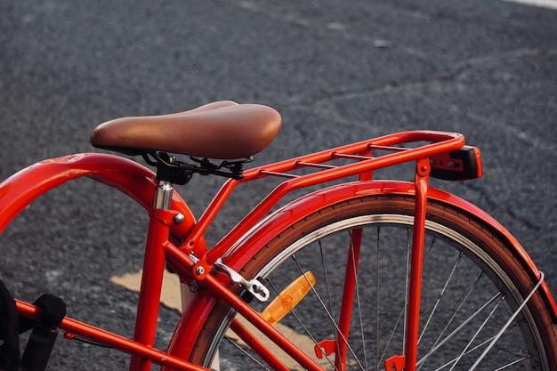 Transporte de bicicleta na rua