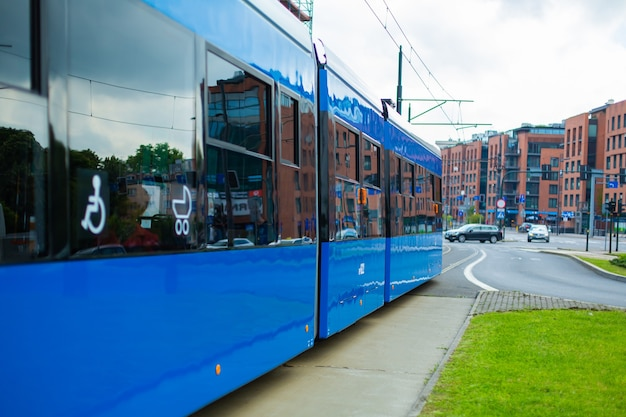 Transporte elétrico moderno