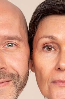 Tratamento de beleza anti-envelhecimento