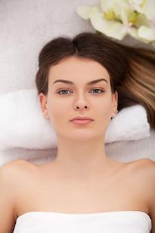Tratamento de beleza facial