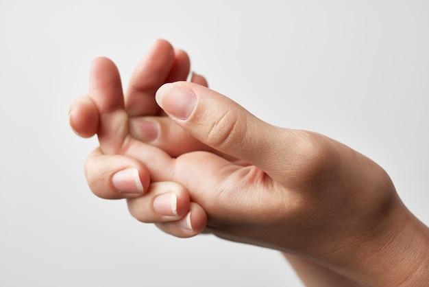 Tratamento de reumatismo de lesão de mão