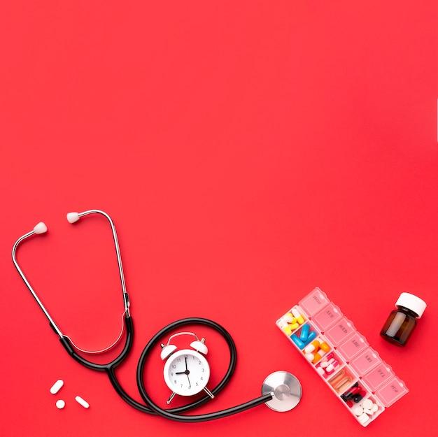 Tratamento de saúde no espaço da cópia