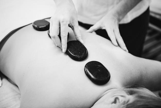 Tratamento de terapia de salão de spa