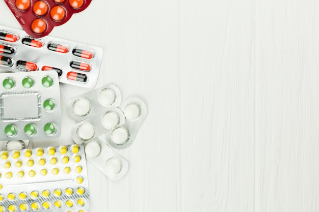 Tratamento médico com comprimidos