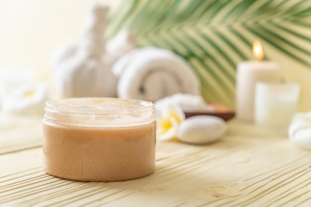 Tratamentos de spa em madeira