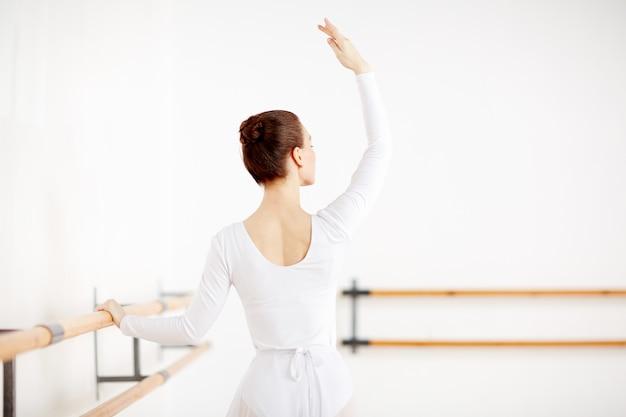 Treinamento de balé