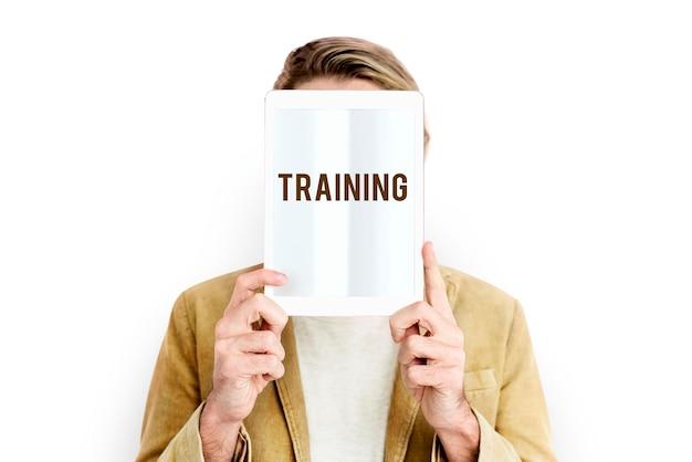 Treinamento de habilidades de educação de habilidades estudando