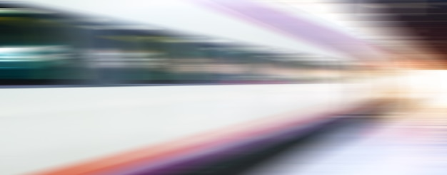 Trem de alta velocidade - fundo abstrato