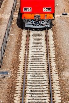 Trem, em, estação, em, vilnius