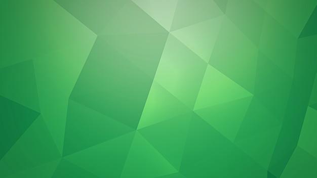 Triângulos verdes, fundo abstrato. estilo geométrico dinâmico elegante e luxuoso para negócios, ilustração 3d