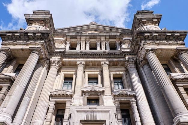 Tribunais de justiça de bruxelas na bélgica