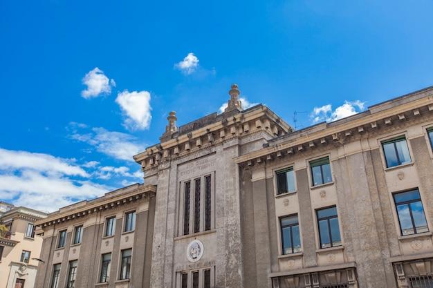 Tribunal de bérgamo na itália