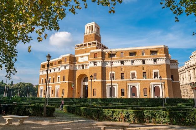 Tribunal de supervisão, tribunale di sorveglianza e supremo tribunal de cassação, centro de roma