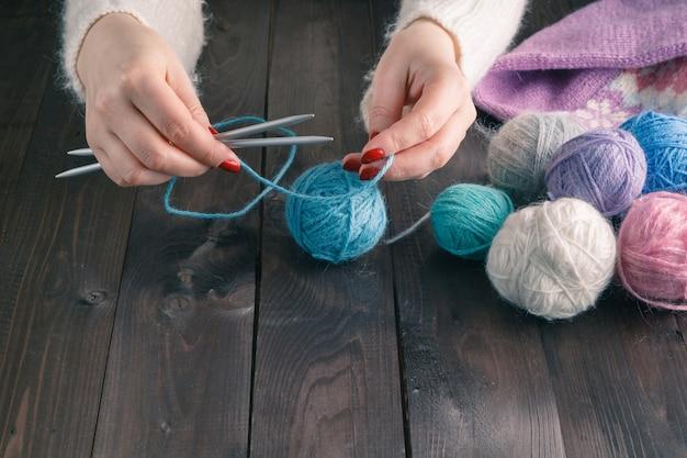 Tricô de lã