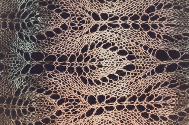 Tricô textura de fundo cor clara