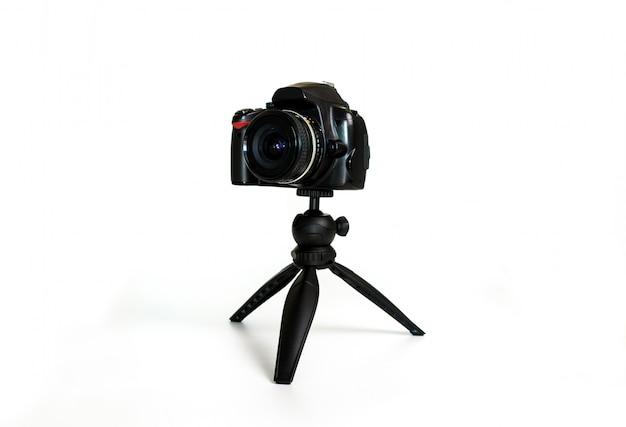 Tripé pequeno para fotógrafos e vídeo