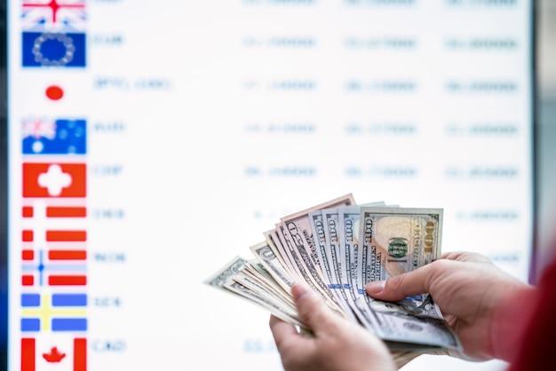 Trocar dinheiro