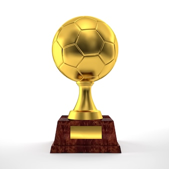 Troféu de futebol
