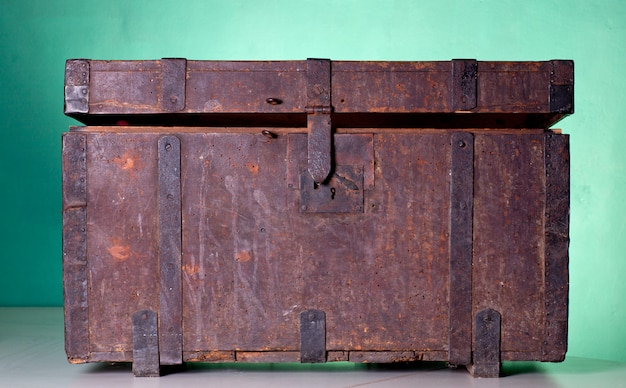 Tronco de madeira antigo