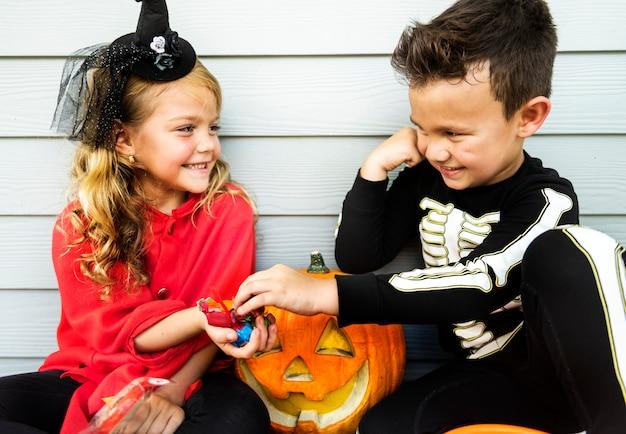 Truque de crianças pequenas ou tratamento