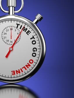 Tstopwatch com slogan