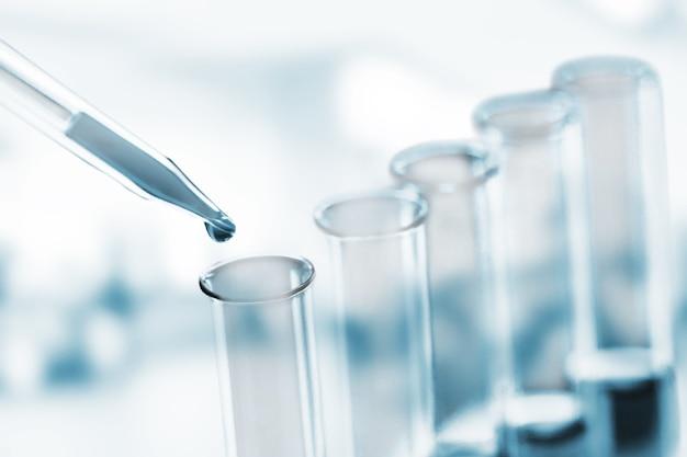 Tubos de ensaio de laboratório de ciências, equipamento de laboratório