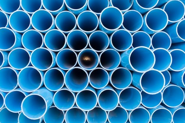 Tubos de pvc para água potável.