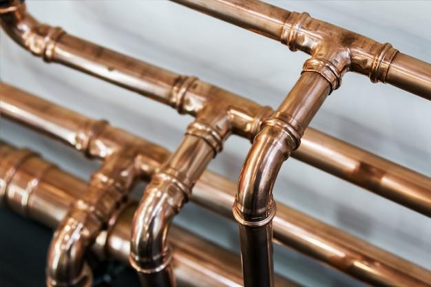 Tubos e acessórios de cobre para transporte