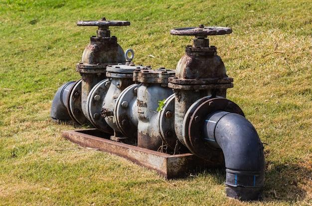 Tubos e válvulas do sistema de sprinklers na indústria automotiva