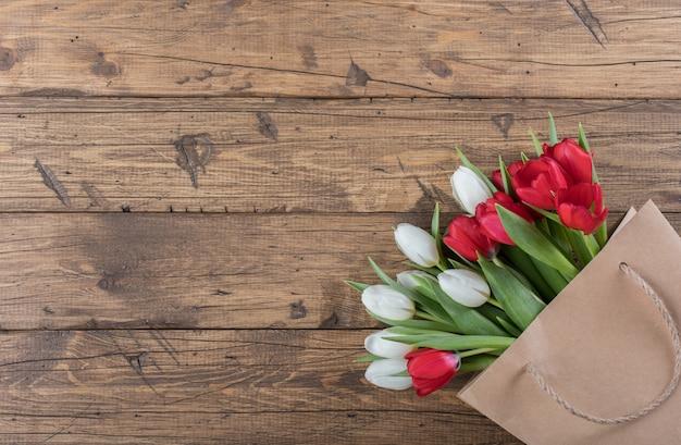 Tulipa de flores da primavera