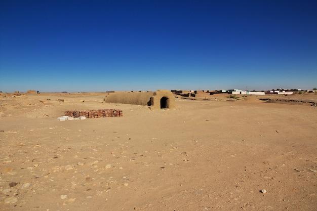 Túmulo do antigo faraó no sudão
