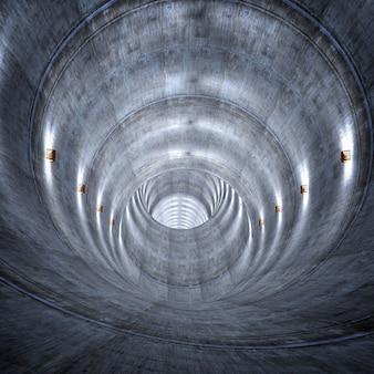 Túnel de concreto