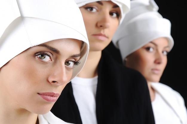 Turbante sufy glamour sheikh religião muçulmana