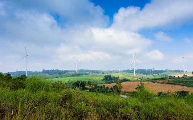 Turbina de moinho de vento para produção elétrica