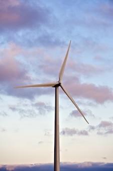 Turbina eólica única