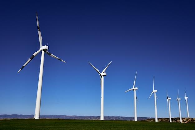 Turbinas eólicas para produção de energia elétrica