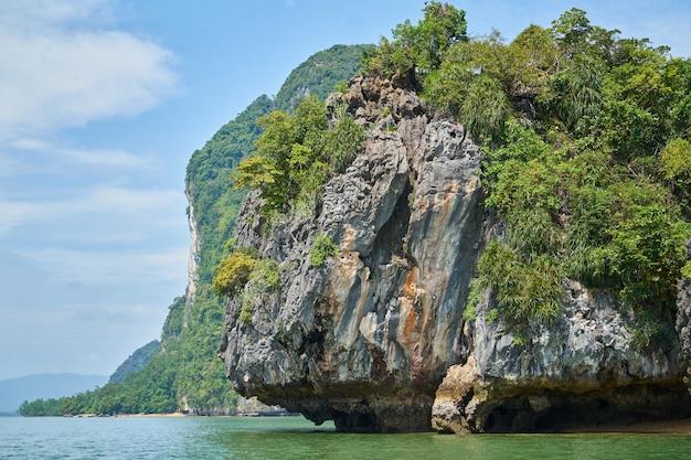 Turismo verão ilha do mar da praia
