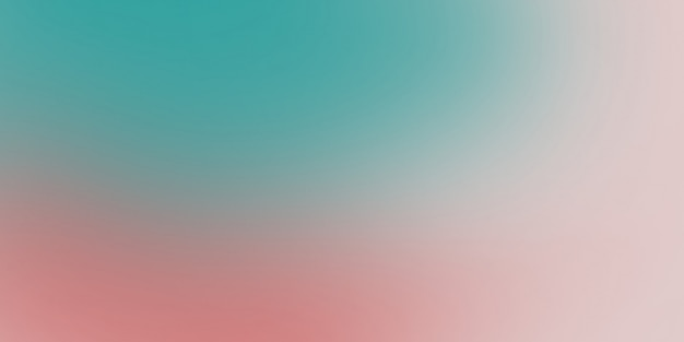 Turquesa e rosa cores suaves gradiente abstrata