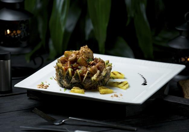 Turshu govurma plov, comida nacional do azerbaijão