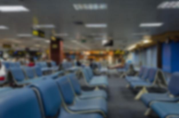Turva a cadeira no aeroporto