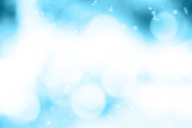 Turva luz azul gradiente bokeh abstrato