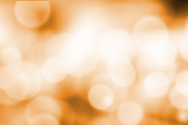 Turva luz laranja gradiente bokeh abstrato