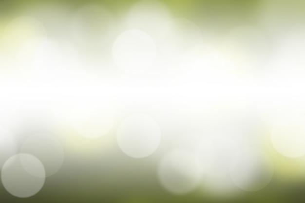 Turva luz verde gradiente bokeh abstrato