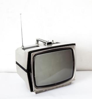 Tv cinza vintage