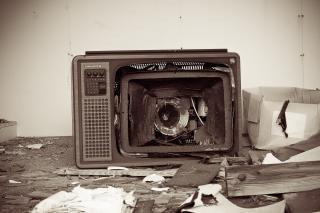Tv quebrada